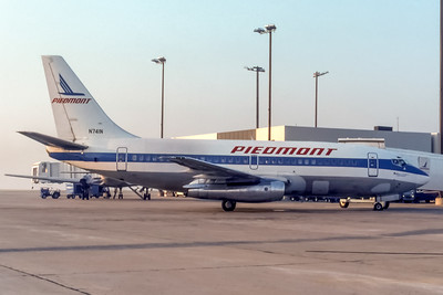 Piedmont Airlines, N741N, Boeing 737-201, msn 20211, Photo by Photo Enrichments Collection, Image J169RGJC