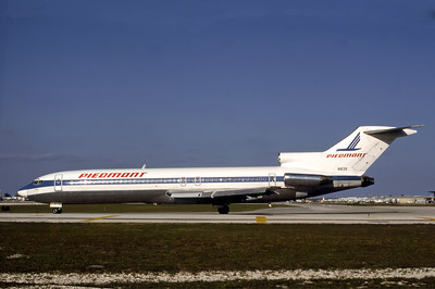 Piedmont Airlines, N1639, Boeing 727-295, msn 19444, Photo by Nigel Chalcraft, Image I073LGNC