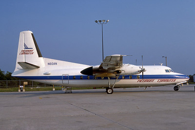 Piedmont Cummuter (Piedmont Airlines), N60AN, Fokker F-27-600 Friendship, msn 10514, Photo by Photo Enrichments Collection, Image E009RGJC