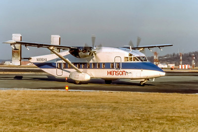 Piedmont Commuter (Henson Airlines), N896HA, Shorts 330-200, msn SH3028, Photo by Photo Enrichments Collection, Image KK009RGJC