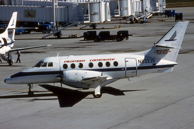 Piedmont Commuter, N832JS, Bae Jetstream 3101, msn 725, Photo by Photo Enrichments Collection, Image AG001LGJC