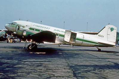 Pinehurst Airlines, N52V, Douglas DC-47A, msn 19649, Photo from Photo Enrichments, Image A003LGJC