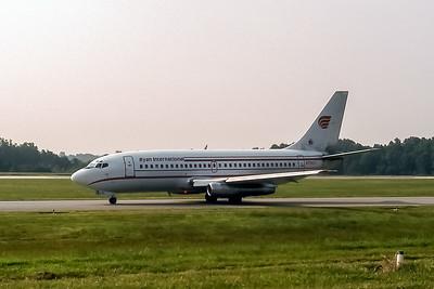 Ryan International, N730TJ, Boeing 737-291, msn 20364, Photo by John A Miller, GSO, Image J096LGJM