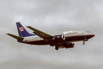 Shuttle by United, N919UA, Boeing 737-522, msn 25386, Photo by Joe Fernandez Collection, Image Z013RAJF