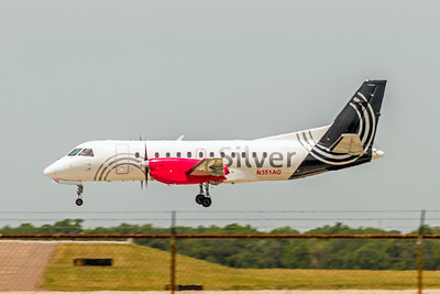 Silver Airways, N351AG, Saab340B, msn 445, Photo by John A Miller, TPA, Image GG017LAJM