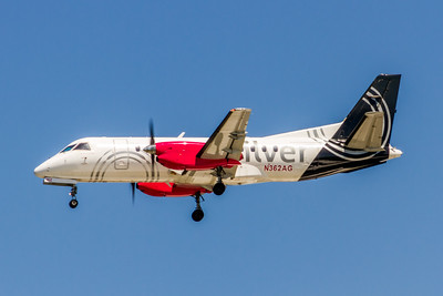 Silver Airways, N362AG, Saab 340B, msn 438, Photo by John A Miller, TPA, Image GG018LAJM