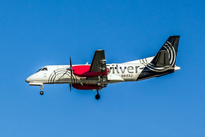 Silver Airways, N415XJ, Saab 340B, msn 340B-415, Photo by John A Miller, TPA, Image GG014LAJM