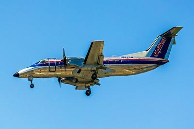 Skywest, N565SW, EMB-120ER Brasilia, msn 120340, Photo by John A Miller, LAX, Image NN010LAJM