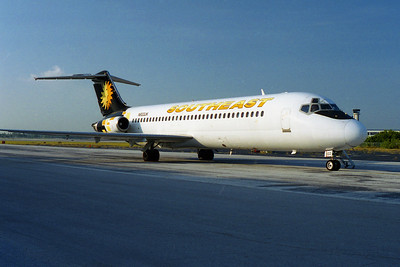 Southeast Airlines, N933JK, McDonnell Douglas DC-9-31, msn 48159, Photo by John A. Miller, PIE, Image C109RGJM