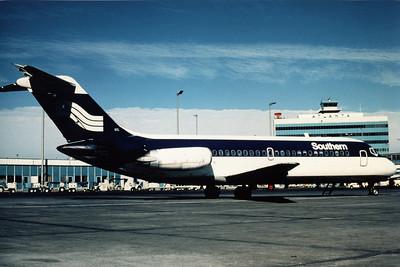 Southern Airways, N91S, Douglas DC-9-15, msn 47063, Photo by Photo Enrichments Collection, ATL, Image C016RGJC