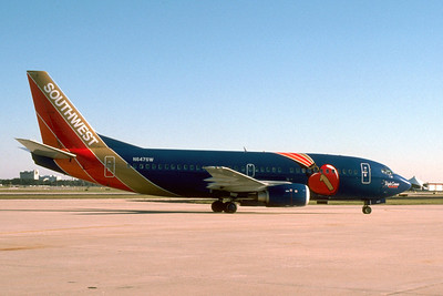 Southwest, N647SW, Boeing 737-3G7, msn 23784, Photo by John A. Miller, TPA, Image K072RGJM