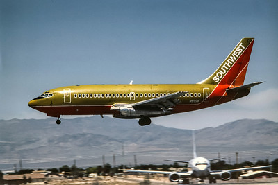 Southwest, N55SW, Boeing 737-2H4Adv, msn 21593, Photo by Nigel Chalcraft, Image J049LANC