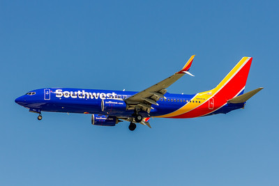 Southwest Airlines, N8653A, Boeing 737-8H4(WL), msn 37037, Photo by John A Miller, TPA, Image UU071LAJM