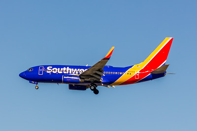 Southwest Airlines, N7725A, Boeing 737-76N(WL), msn 32671, Photo by John A Miller, LAX, Image TT151LAJM
