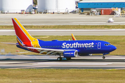 Southwest Airlines, N773SA, Boeing 737-7H4(WL), msn 27881, Photo by John A Miller, TPA, Image TT124RGJM