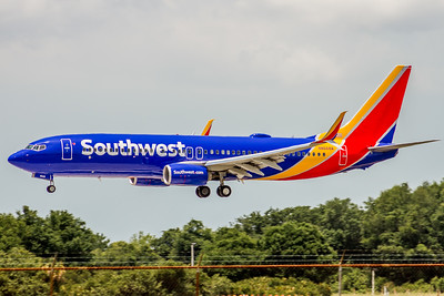 Southwest Airlines, N8668A, Boeing 737-8H4(WL), msn 36903, Photo by John A Miller, TPA, Image UU073LAJM