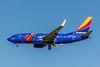 Southwest Airlines, N409WN, Boeing 737-7H4(WL), msn 27896, Photo  by John Miller, LAX, Image TT146LM, Tripe Crown Special Paint Scheme