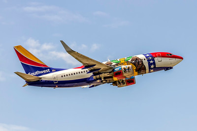 Southwest Airlines, N280WN, Boeing 737-7H4(WL), msn 32533, Missouri One Special Paint Scheme, Photo by John A Miller, TPA, Image TT173LAJM