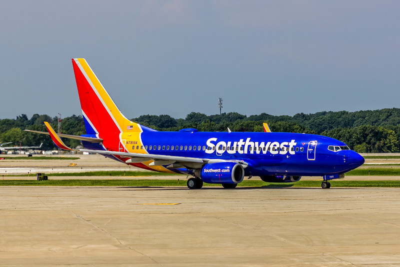 Southwest Airlines, N7819A, Boeing 737-7Q8(WL), msn 30649, Photo by John A MIiller, CLE, Image TT161RGJM