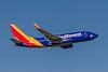 Southwest Airlines, (Nolan Ryan Express), N742SW, Boeing 737-7H4(WL), msn 29278, Photo by John A Miller, TPA, Image TT165RAJM, Special Color Scheme