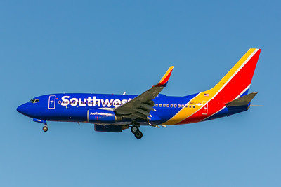 Southwest Airlines, N7834A, Boeing 737-752(WL), msn 33789, Photo by John A Miller, LAX, Image TT152LAJM