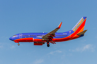 Southwest Airlines, N437WN, Boeing 737-7H4(WL), msn 29832, Photo by John A Miller, LAX, Image TT159LAJM