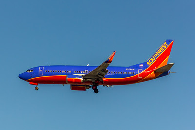 Southwest Airlines, N370SW, Boeing 737-3H4(WL), msn 26597, Photo by John A Miller, LAX, Image K134LAJM