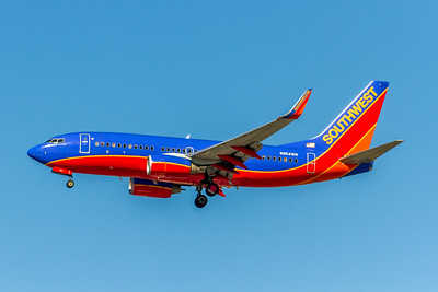 Southwest Airlines, N954WN, Boeing 737-7H4(WL), msn 36669, Photo by John A Miller, LAX, Image TT157LAJM