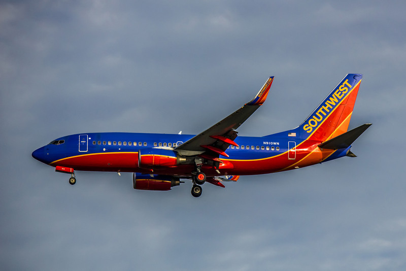 Southwest Airlines, N910WN, Boeing 737-7H4(WL), msn 36618, Photo by John A Miller, TPA, Image T060LAJM