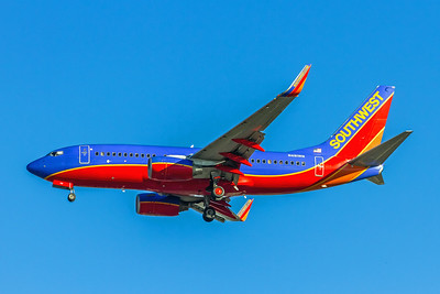 Southwest Airlines, N481WN, Boeing 737-7H4(WL), msn 29853, Photo by John A Miller, LAX, Image TT131LAJM