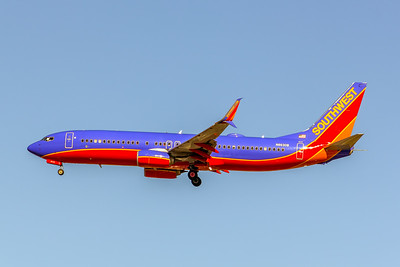 Southwest Airlines, N8630B, Boeing 737-8H4(SS), msn 42521, Photo by John A Miller, LAX, Image UU078LAJM