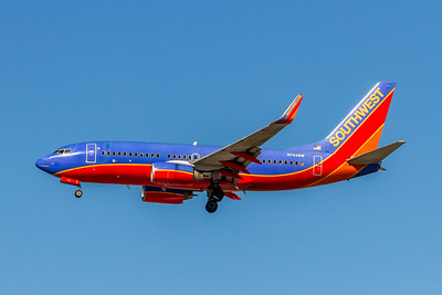 Southwest Airlines, N744SW, Boeing 737-7H4(WL), msn 29490, Photo by John A Miller, LAX, Image TT156LAJM