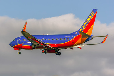 Southwest Airlines, N462WN, Boeing 737-7H4(WL), msn 32466, Photo by John A Miller, TPA,  Image TT137LAJM