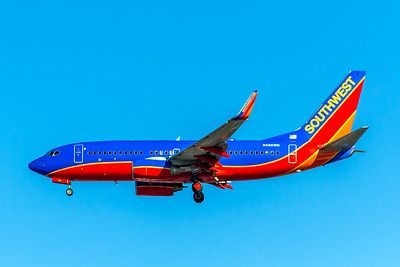 Southwest Airlines, N495WN, Boeing 737-7H4(WL), msn 33869, Photo by John A Miller, LAX, Image TT145LAJM