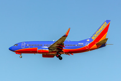 Southwest Airlines, N961WN, Boeing 737-7H4(WL), msn 36962, Photo by John A Miller, LAX, Image TT148LAJM