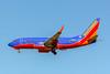 Southwest Airlines, N961WN, Boeing 737-7H4(WL), msn 36962, Photo by John A Miller, LAX, Image TT148LAJM