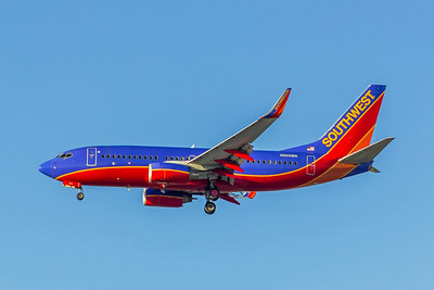 Southwest Airlines, N205WN, Boeing 737-7H4(WL), msn 34010, Photo by John A Miller, LAX, Image TT130LAJM