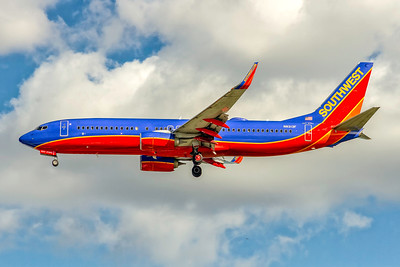 Southwest Airlines, N8313F, Boeing 737-8H4(WL), msn 38810, Photo by John A Miller, TPA, Image UU087LAJM