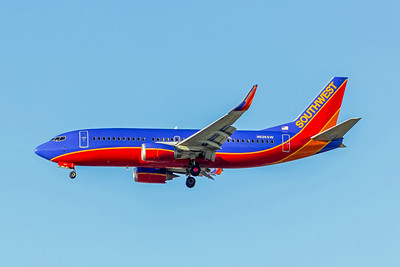 Southwest Airlines, N626SW, Boeing 737-3H4(WL), msn 27702, Photo by John A Miller, LAX, Image K126LAJM