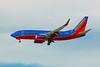 Southwest Airlines, N932WN, Boeing 737-7H4, msn 36639, Photo by John A. Miller, LAS, Image TT038LAJM