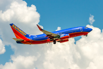 Southwest Airlines, N216WR, Boeing 737-7H4(WL), msn 32488, Photo by John A Miller, TPA, Image TT155LAJM