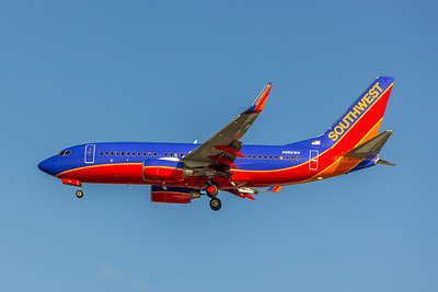 Southwest Airlines, N956WN, Boeing 737-7H4, msn 36672, Photo by John A. Miller, TPA, Image TT004LAJM