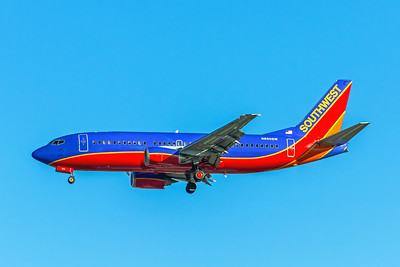 Southwest Airlines, N660SW, Boeing 737-301, msn 23230, Photo by John A Miller, LAX, Image K127LAJM