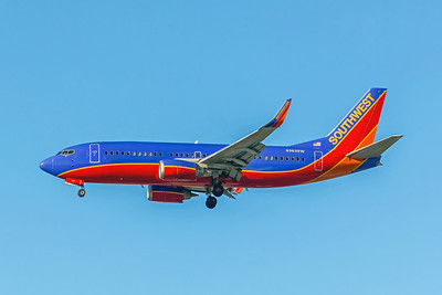 Southwest Airlines, N363SW, Boeing 737-3H4(WL), msn 26574, Photo by John A Miller, LAX, Image K125LAJM