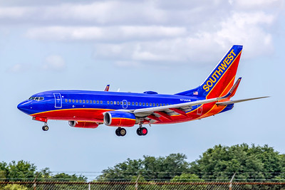 Southwest Airlines, N758SW, Boeing 737-7H4(WL), msn 27873, Photo by John A Miller, TPA, Image TT169LAJM