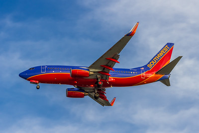 Southwest Airlines, N7720F, Boeing 737-7BD(WL), msn 33922, Photo by John A Miller, TPA, Image TT132LAJM