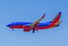 Southwest Airlines, N7715E, Boeing 737-7BD(WL), msn 33921, Photo by John A Miller, LAX, Image TT082LAJM