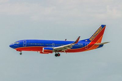 Southwest Airlines, N607SW, Boeing 737-3H4(WL), msn 27927, Photo by John A Miller, TPA, Image K129LAJM