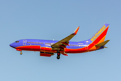 Southwest Airlines, N232WN, Boeing 737-7H4(WL), msn 32500, Photo by John A Miller, LAX, Image TT150LAJM