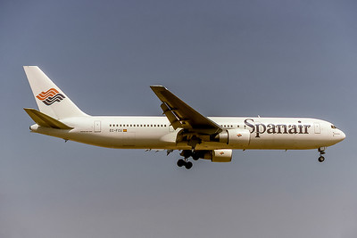 Spanair, EC-FCI, Boeing 767-2YO(ER), msn 24999, Photo by P Hol, Image P056RAPH